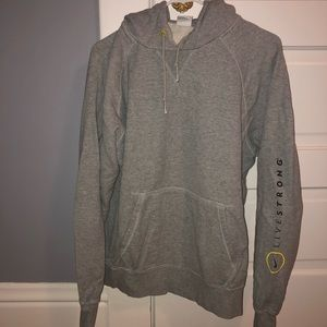 Men's Nike Live Strong Grey hoodie